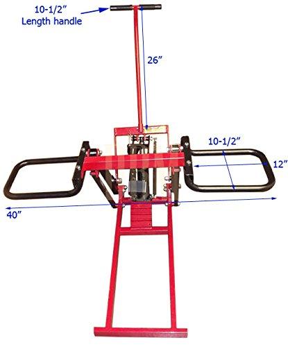 Garden Tractor Hydraulic Implement Lift : Lbs hydraulic garden lawn riding mower tractor lift