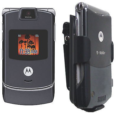 V3R V3T V3 V3M V3X V3c V3I Phone Motorola Holster Case Razr Razor cell Belt clip ()