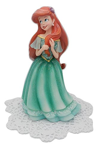 Enesco Disney Showcase Couture de Force Princess Stone Resin Figurine with Westbraid Doily (Ariel in Dress)
