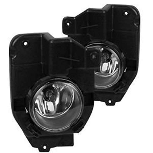 Remarkable Power FL7097 Fit For 2013 2014 2015 Ford Explorer Pair Front Fog Lights Clear Lens Bumper Lamps W/Blub