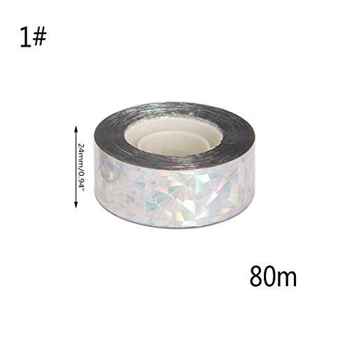 Insectos Correa Cara Cinta antideslumbrante Doble Flash Laser 4cmx80m 2 de Repelente Dabixx nq0w6