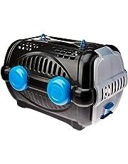 Caixa de Transp. Luxo Furacaopet N2 - Branca com Azul, Furacão Pet
