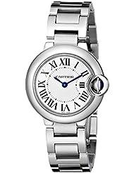 Cartier Womens W69010Z4 Ballon Bleu Stainless Steel Dress Watch