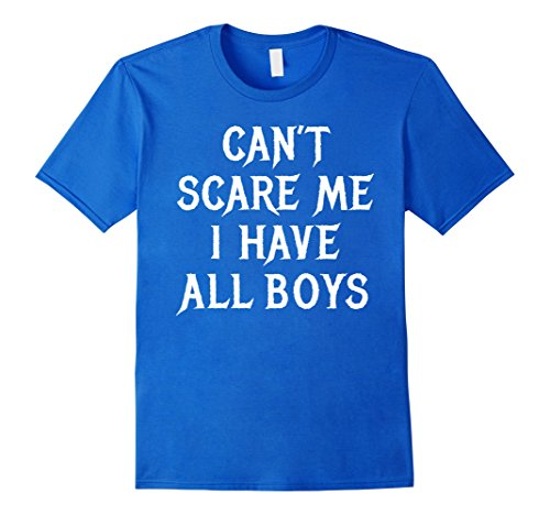 Costumes For Moms And Dads (Mens Funny Mom Dad of Boys Halloween Shirt Gift for Husband Sons XL Royal Blue)