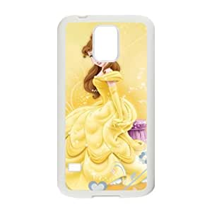 Beauty and the Beast lovely girl Cell Phone Case for Samsung Galaxy S5 by icecream design