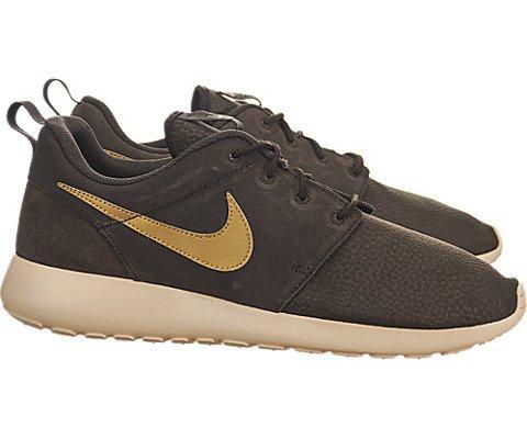 competitive price 229f9 3ba6f Nike Roshe Run Suede - Velvet Brown / Sand Dune-Volt ...