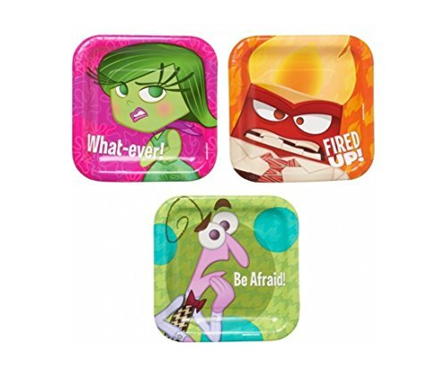 Inside Out Party Dessert Plates (24 Count)