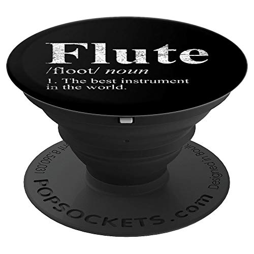 The Best Instrument In The World Flute - PopSockets Grip and Stand for Phones and Tablets