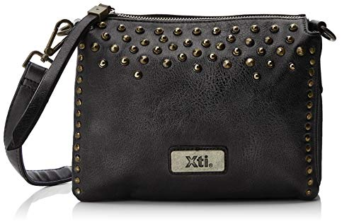 Women's 85985 XTI Black Women's Bag XTI Black Body Cross FEqTg