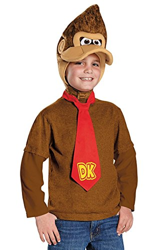 Super Gorilla Child Costumes (Donkey Kong Super Mario Bros. Nintendo Child Costume Kit)
