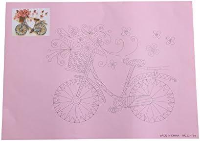 Perfecte de speciale papierset woondecoratie met papier papier sjabloon zitting