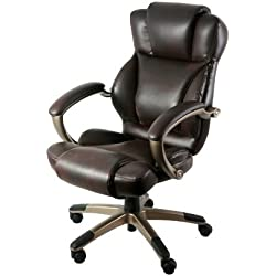 Z-Line Designs Executive Chair, Dark Brown