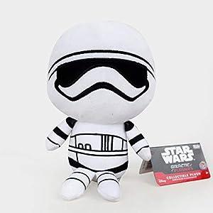 Keu_20 Movies & TV - Star Wars 8 Plush Toys Doll 20cm The Last Jedi Storm Trooper Darth Vador Finn Rey BB-9E Plush Stuffed Toys for Children Gifts 1 PCs