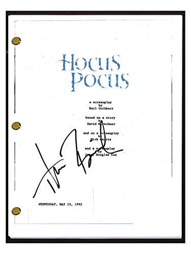 Thora Birch Signed Autographed HOCUS POCUS Full Movie Script Screenplay COA from Unknown