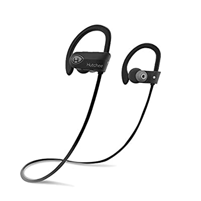 Hutchee Puresound H100 Bluetooth Headphones, Wireless Earbuds, Comfortable Wireless Headphones, Bluetooth Running Headphones, Bluetooth Headset for Sports
