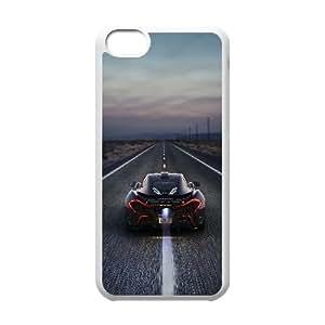 Mclaren P1 Car 2 iPhone 5c Cell Phone Case White yyfabb-129896