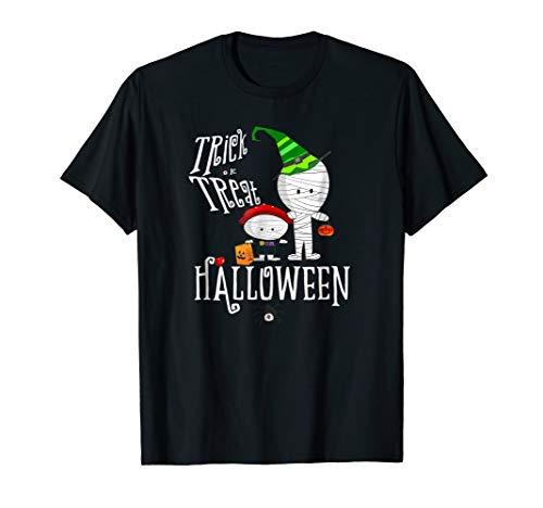 Boys Halloween T Shirt Trick or -