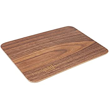 "Laptop EMF Pad Providing EMF and Radiation Protection. Real Wood for 13"" Laptops"