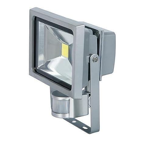 Faro LED Foco 50 W con sensor de movimiento frío exterior