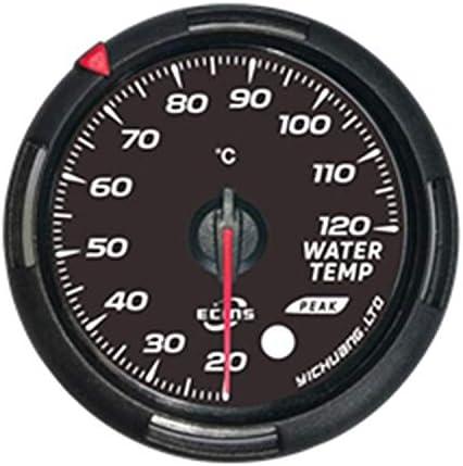 LIPENLI 回転速度计 エンジン、船舶、修正車のインストルメントパネル60ミリメートル水の温度を温度計カーLED水温計 自動車用品