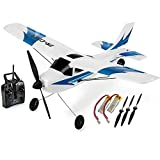 Top Race Rc Plane 3 Channel Remote Control Airplane