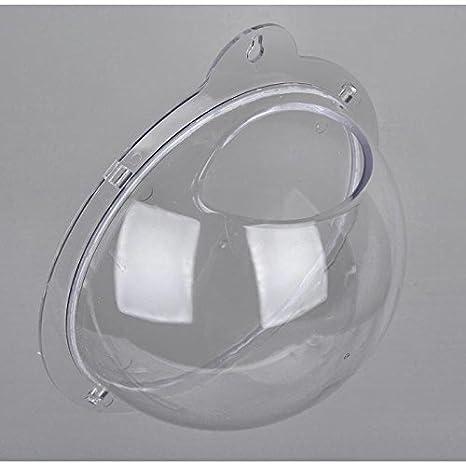 Mini jarrón - pared bolsa de acrílico transparente en el acuario sellador: Amazon.es: Hogar
