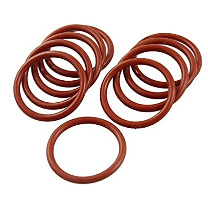 Color: Gx10 3p5mmx36mmx43mm 31mm 39mm Ochoos 10 Pcs 3.5Mm Flexible Silicone O Ring Seal Washer Id 36mm 38mm 34mm 32mm 41mm - 40mm 33mm