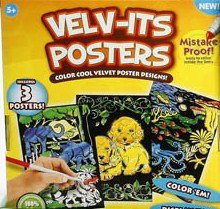 Amazon.com: Velv-its Posters: Toys & Games