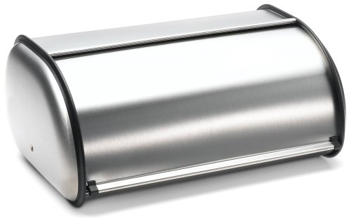 - Prime Pacific Stainless Steel Bread Box, Brushed