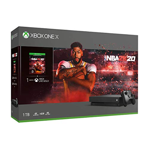 Xbox One X 1TB Console – NBA 2K20 Bundle