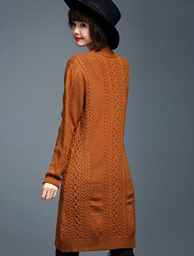 MatchLife - Jerséi - para mujer Style10-Orange(Fit UK 4-10)