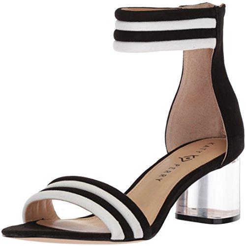 Katy Perry Women's The Sierra Heeled Sandal, Black, 8 Medium US