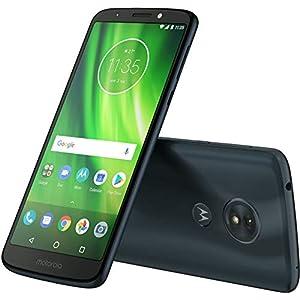 Motorola Moto G6 Play 16GB – 5.7″ 4G LTE Unlocked Smartphone, US Version, XT1922-9 (Deep Indigo)