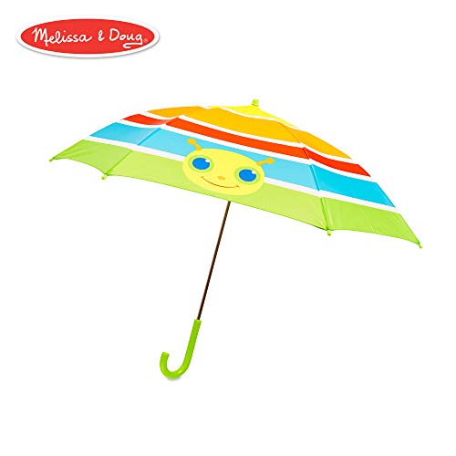 Melissa & Doug Giddy Buggy Umbrella for Kids With Safety Open and Close ()