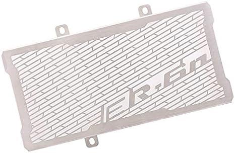 Color : Silver Anhuidsb Copertura Grill Motociclo Accessori in acciaio inox radiatore proteggi Griglia for Kawasaki Er6F ER6N 2012-2016 anhuidsb