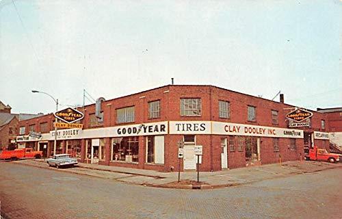 Advertising Post Card Good Year Tires Bloonington, Illinois, USA 1976 Ink Stamp