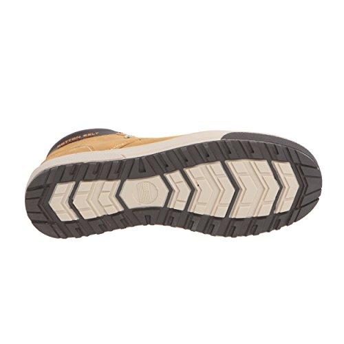 Scarpa Alta Uomo Casual Senape Belt Cotton da SwnxOgq5Rp