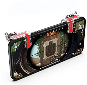 MN Mobile Game Trigger for Knives out Rules of Survival Mobile Game Fire Button Aim Key L1/ R1 Shooter Controller PUBG Joysticks
