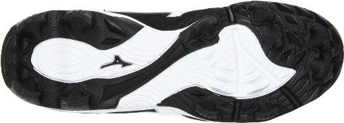Mizuno Mujeres Finch Franchise 4 Softball Cleat Black / White