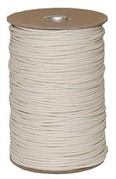 T.W . Evans Cordage 02-185 Number-18 Cotton Seine Mason Line with 550-Feet Tube