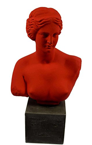 Aphrodite sculpture bust Venus Goddess of love statue artifact]()