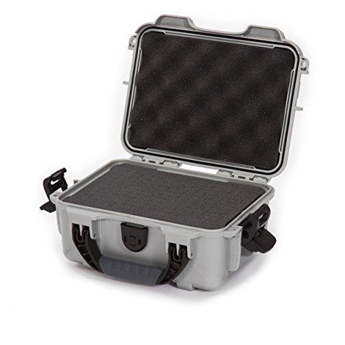 Nanuk 904 Waterproof Hard Case with Foam Insert - Silver