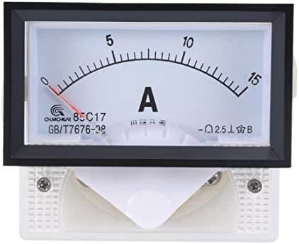 Accurate Analog Current Panel Meter DC Ammeter Circuit Tester Ampere Tester