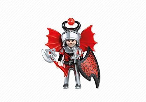 PLAYMOBIL 7974 - Líder de los Caballeros del Dragón Rojo: Amazon.es: Juguetes y juegos