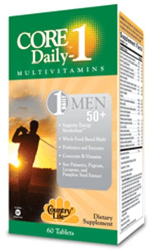 Core Daily-1 For Men 50+ 60 Count