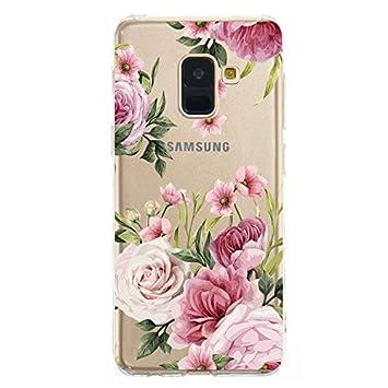 Soft Durchsichtige Kristal Klar Clear Transparent Bumper f/ür Samsung A70