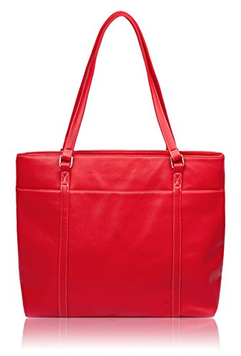 Tote Shoulder Bag (Red) - 8