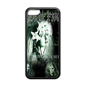 Cradle of Filth Cell Phone Protector for iPhone 5C Plastic and TPU (Laser Technology)