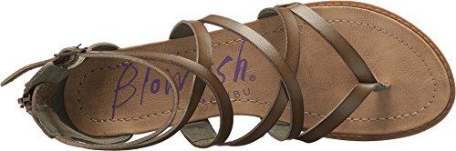 Dyecut Bungalow Wedge Pu Women's Sage Blowfish Sandal BPgxq