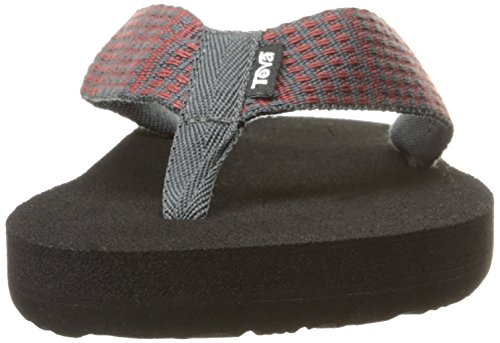 Teva Mens M Mush Ii Sandali Paz Dark Shadow / Brick